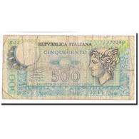 Billet, Italie, 500 Lire, 1974, 1974-02-14, KM:94, B+ - [ 2] 1946-… : Repubblica