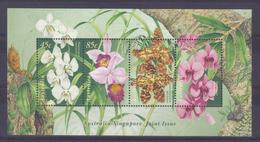 Australia 1998 Orchids S/S Y.T. BF 51 ** - Blocks & Kleinbögen