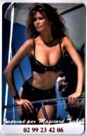 CLAUDIA SCHIFFER - Magiscard Turbo - TOP MODEL, SEXY - Carte Plastic Publicitaire Format Télécarte TBon Etat (voir Scan) - Pinup