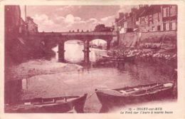 Isigny Sur Mer (14) - Le Pont Sur L'Aure à Marée Basse - Altri Comuni