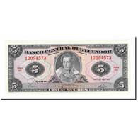 Billet, Équateur, 5 Sucres, 1983, 1983-04-20, KM:108b, SPL+ - Equateur