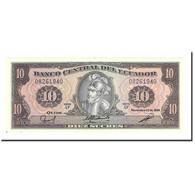 Billet, Équateur, 10 Sucres, 1988, 1988-11-22, KM:121, SPL+ - Equateur