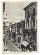3870 - CATANZARO CORSO MAZZINI BANCO DI NAPOLI ANIMATISSIMA 1953 - Catanzaro