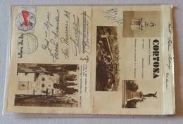 Lettera Illustrata Raccomandata Cortona-Lugo (RA) - 25/06/1952 - 6. 1946-.. Repubblica