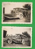 Albania Cars Auto Regio Esercito Camions  2 Foto 1940 - Guerra, Militari