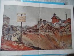 """GUERRE DE 1914-1918  - COUCY LE CHÂTEAU - CUTS (Oise) Et HAM  -  """"LA RETRAITE ALLEMANDE"""" - Voir Ci-dessous - Documents"""