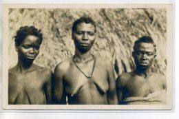 NUDE 0099 COTE D'IVOIRE  88 Coll G Lerat  -  Trio  Femmes GAGOU Robes Baissées Poitrines Nues - Africa Meridionale, Occidentale E Orientale