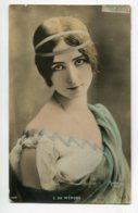 ARTISTE 1301 Cléo DE MERODE Joli Portrait ART NOUVEAU SIP 1342  écrite 1906  Photographe REUTLINGER - Artisti