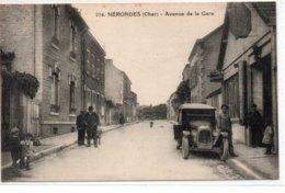 Nérondes-Avenue De La Gare - Nérondes