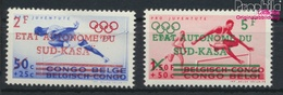 Süd-Kasai Mi.-Nr.: 16-17 (kompl.Ausg.) Postfrisch 1961 Aufdruckausgabe (9397762 - Süd-Kasai