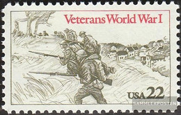 U.S. 1765 (complete Issue) Unmounted Mint / Never Hinged 1985 Veterans 1. War - Nuovi