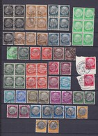 Deutsches Reich - 1933/36 - Michel Nr. 512/528 - Gest./Ungebr./Postfrisch - 40 Euro - Deutschland