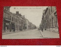LA  LOUVIERE  -  Rue Arthur Warocqué - La Louvière