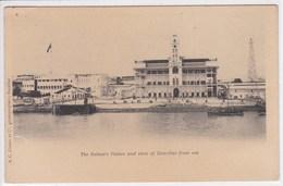 TANZANIE ZANZIBAR , The Sultan's Palace And View Of Zanzibar From Sea - Tanzania