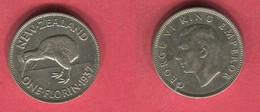 UNE SHILLING 1937 (km 10) TB+22 - New Zealand