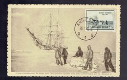 CM N° COB 750 Belgica ( Antartique ) Datée 28 5 49 - Cartes-maximum (CM)