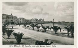 TRIPOLI / LIBIA / Colonie Italiane  -  1941  ,  Il Castello Visto Dal Lungo Mare Volpi - Libyen