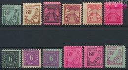 Sowjetische Zone (All.Bes.) Mi.-Nr.: 8-19 (kompl.Ausg.) Postfrisch 1945 Mecklenburg 1.Ausgabe (9398117 - Zone Soviétique