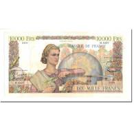 France, 10,000 Francs, Génie Français, 1953, 1953-02-05, TTB+, Fayette:50.63 - 1871-1952 Anciens Francs Circulés Au XXème