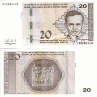 BOSNIA-HERZEGOVINA    20 Konv. Maraka      P-82[b]       2019     UNC  [sign. Softić] - Bosnia Y Herzegovina