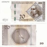 BOSNIA-HERZEGOVINA    20 Konv. Maraka      P-83[b]       2019     UNC  [sign. Softić] - Bosnia Y Herzegovina