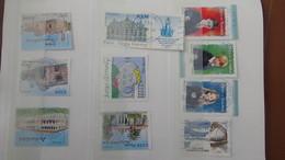 B410 Carnet à Choix De Timbres De France Avec Oblitérations Rondes Toutes BLEUES. Très Sympa !!! - Stamps