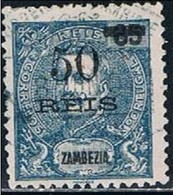 Zambézia, 1905, # 54, Used - Zambèze
