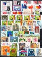 B412 Timbres De France Année 1999 Avec Oblitérations Rondes (2 Scans)  Côte 126 Euros. Très Sympa !!! - Collections (with Albums)