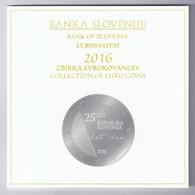 SLOVENIE - COFFRET EURO BRILLANT UNIVERSEL 2016 - 10 PIECES (8.88 Euros) - - Slovenia