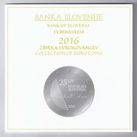 SLOVENIE - COFFRET EURO BRILLANT UNIVERSEL 2016 - 10 PIECES (8.88 Euros) - - Slovénie