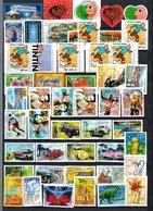 B413 Timbres De France Année 2000 Avec Oblitérations Rondes (2 Scans)  Côte 52 Euros. Très Sympa !!! - Timbres