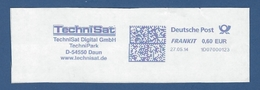 Deutsche Post FRANKIT - 0,60 EUR 2014 - 1D07000123 - DAUN, TechniSat Digital GmbH - TechniPark - Computers
