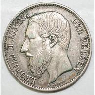 BELGIUM - 2 FRANCS 1887 - LEOPOLD II - LEGENDE FLAMANDE - TRES TRES BEAU - - 1865-1909: Leopold II