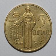 MONACO - 5 CENTIMES 1976 - RAINIER III - SUPERBE - - 1960-2001 Nouveaux Francs