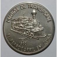CUBA - KM 106 - 1 PESO 1983 - Moyens De Transport - FDC - Cuba