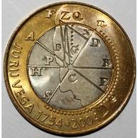 SLOVENIE - KM 57 - 500 TOLARJEV 2004 - JURIJ VEGA - SUP/FDC - - Slovénie