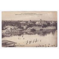 02190 - BERRY-AU-BAC - LA GRANDE GUERRE - LES RUINES DU VILLAGE PRIS DES BORDS DE L'AISNE - - Autres Communes
