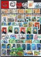 B419 Timbres De France Année 2007 Avec Oblitérations Rondes (2 Scans)  Côte 149 Euros. Très Sympa !!! - Collections (with Albums)
