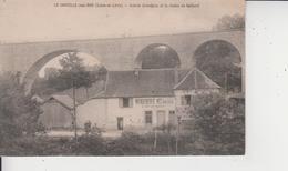 71 LA CHAPELLE SOUS DUN  -  Scierie GRANDJEAN Et Le Viaduc De Gothard  - - Francia