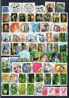 B420 Timbres De France Année 2008 Avec Oblitérations Rondes (2 Scans)  Côte 158 Euros. Très Sympa !!! - Collections (with Albums)