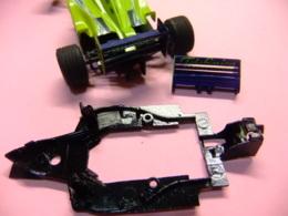 Scalextric Accessoire Minardi F 1 Chasis Y Alerón - Circuits Automobiles