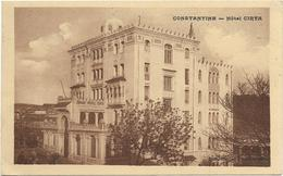 CONSTANTINE   HOTEL  CIRTA      (    ECRITE   ) - Constantine