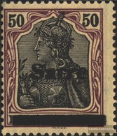 Saar 13x III Unmounted Mint / Never Hinged 1920 Germania - Unused Stamps