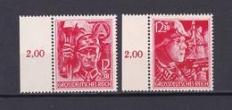 Deutsches Reich - 1945 - Michel Nr. 909/910 - SR - Postfrisch - 140 Euro - Deutschland