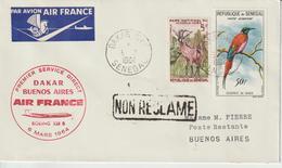 Sénégal 1964 Première Liaison Air France Dakar Buenos Air - Senegal (1960-...)