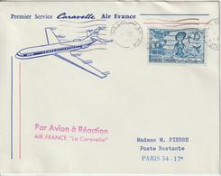 Tunisie 1961 Première Liaison Air France Tunis Paris - Tunesien (1956-...)