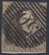 """épaulette - N°1 Margé Obl P50 """"Gosselies"""" - 1849 Epaulettes"""