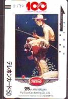 Telecarte Japon *  FRONT BAR 110-8491 * COCA COLA * (2170) Japan Phonecard * TELEFONKARTE * - Advertising