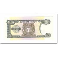 Billet, Cambodge, 200 Riels, 1998, KM:37a, NEUF - Sri Lanka