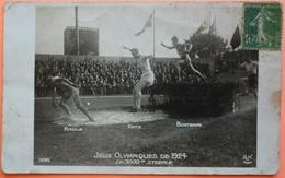CARTE JEUX OLYMPIQUES 1924 PARIS - 3000m STEEPLE - VOIR ETAT !! - 2 SCANS-13 - Olympic Games